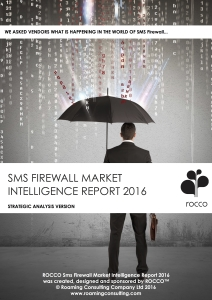 cover sheet ROCCO sms firewall Market Intelligence Report 2016 copy 2