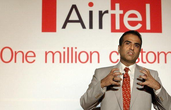 Chairman of Bharti Cellular Limited Sunil Bharti Mittal gestures as he addresses a press conference in New Delhi, 02 June 2003. Mittal announced Airtel Delhi became the first operator to breach the one million customer mark. AFP PHOTO/Prakash SINGH (Photo credit should read PRAKASH SINGH/AFP/Getty Images)