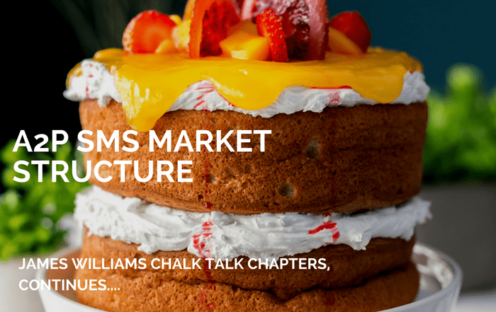 CHALK TALK: A2P SMS MARKET STRUCTURE