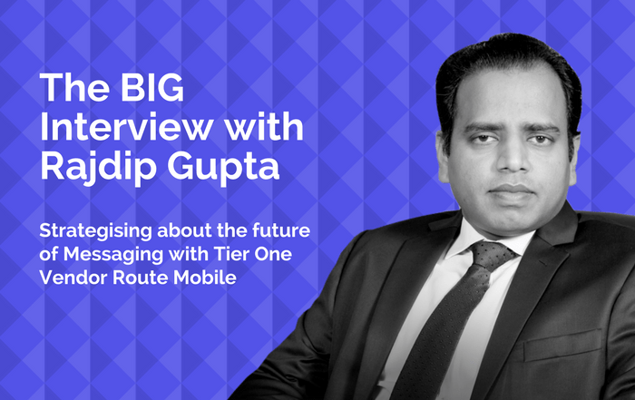 THE BIG INTERVIEW WITH RAJDIP GUPTA