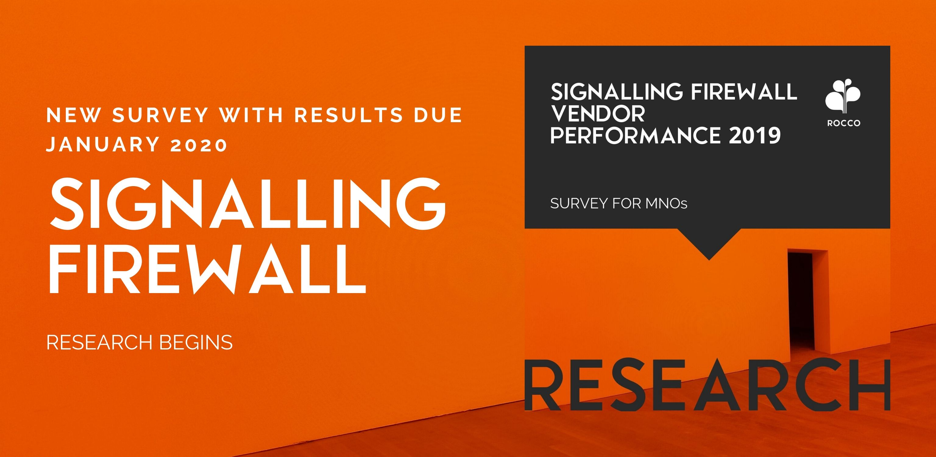 LAUNCH: SIGNALLING FIREWALL VENDOR PERFORMANCE 2020