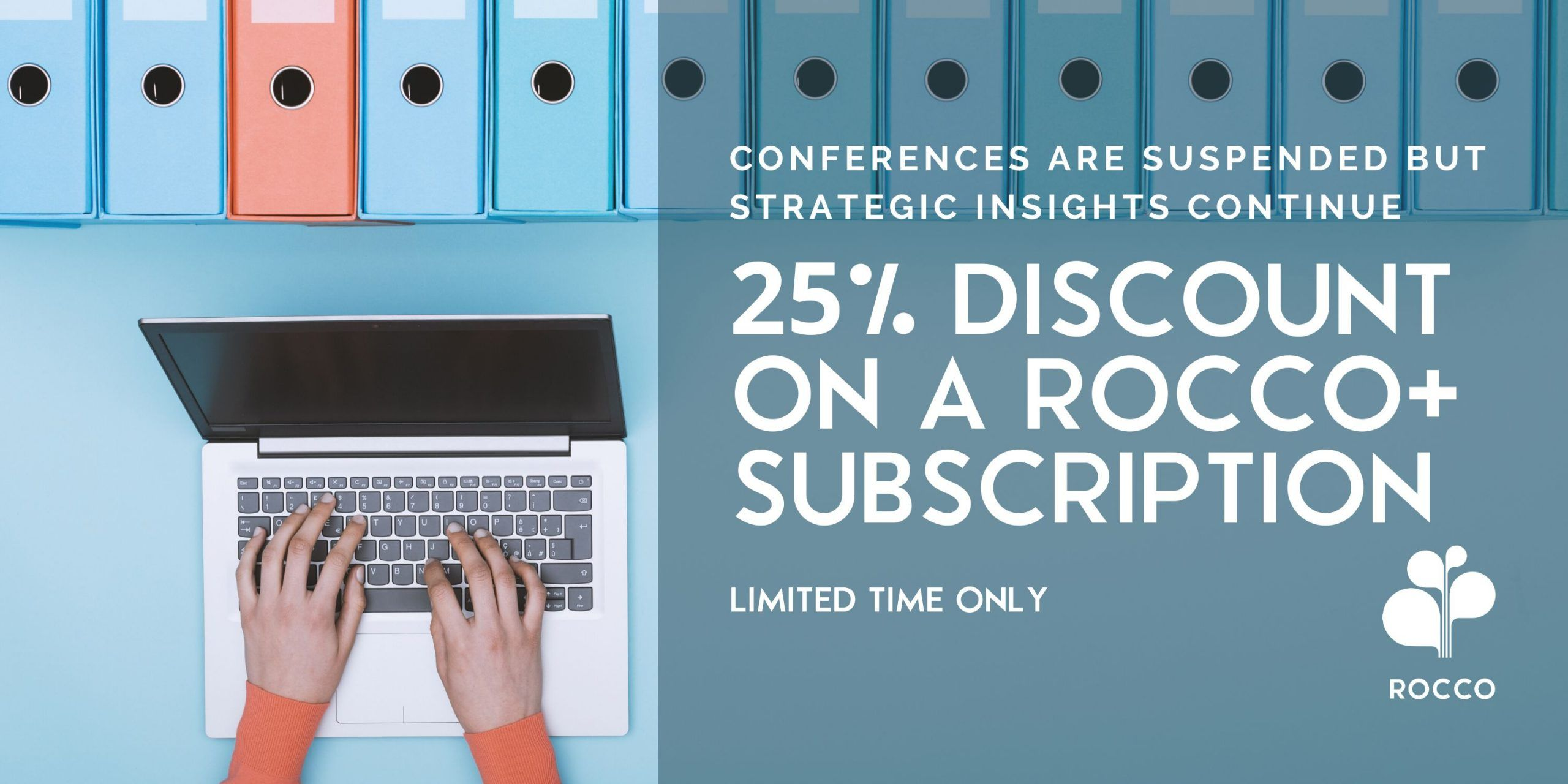 25% Discount on a ROCCO+ Annual Subscription – Limited time only